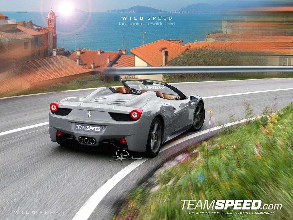 Ferrari 458 Italia teamspeed fot sierpien 2011