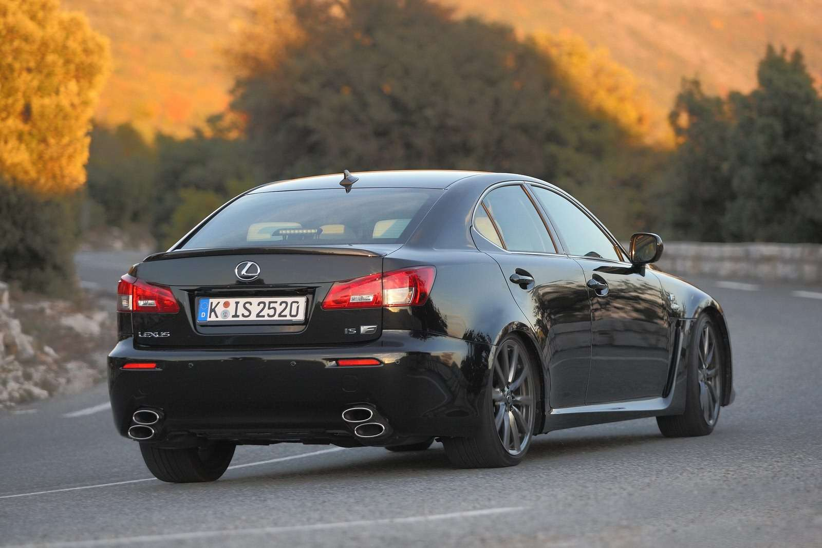 Lexus ISF 2011MY sierpien 2011