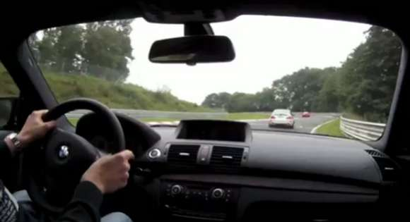 video bmw 1 series m coupe vs bmw m3 csl at the nurburgring glo