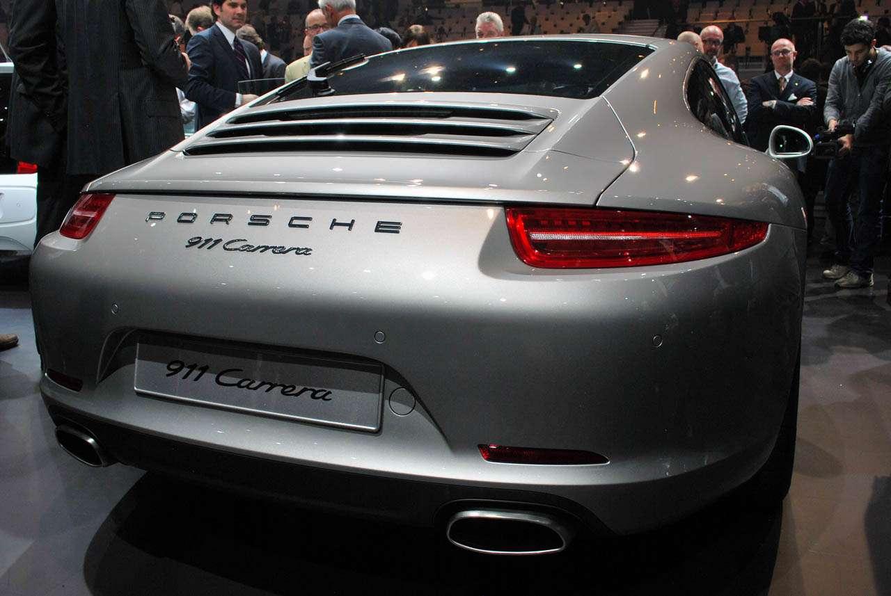 Porsche 911 frankfurt live wrzesien 2011