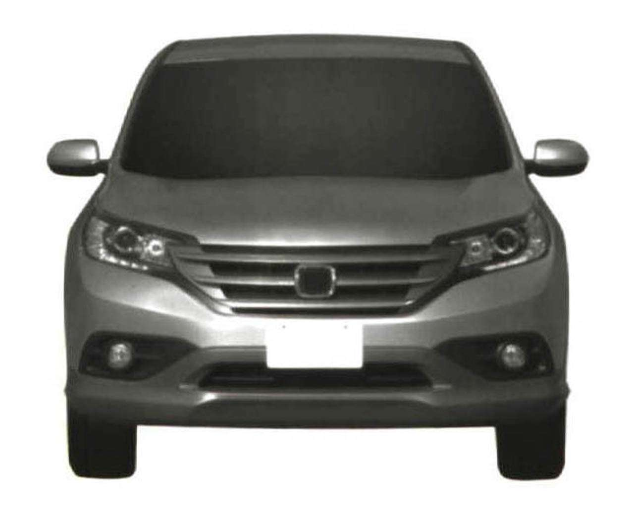 Honda CRV leaked photos ab wrzesien 2011
