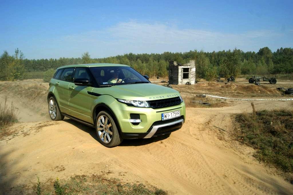 Range Rover Evoque test fot wrzesien 2011