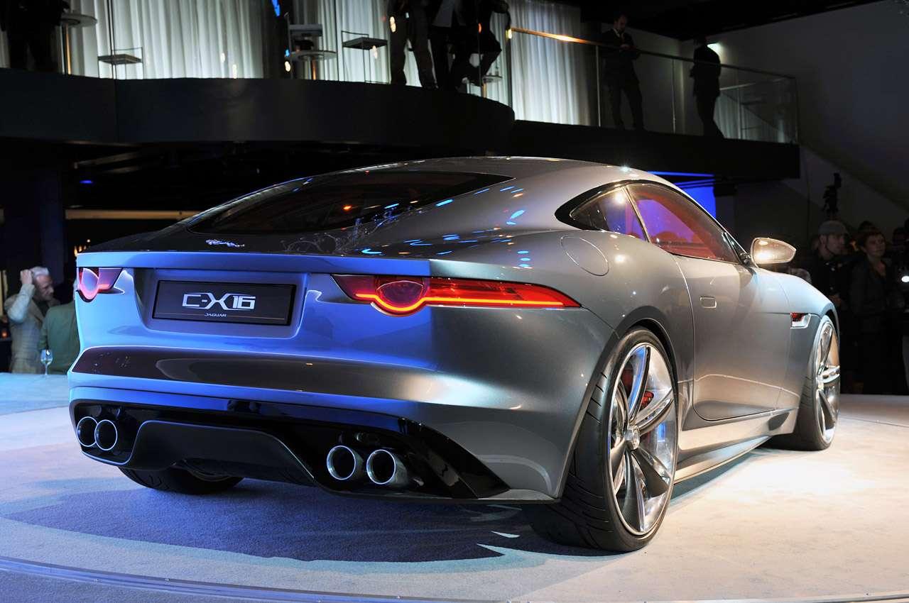 Jaguar C-X16 Concept frankfurt wrzesien 2011