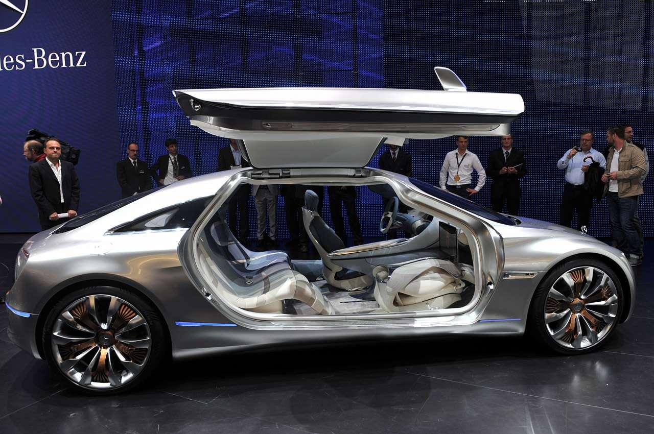 Mercede F125 fot frankfurt koncept wrzesien 2011