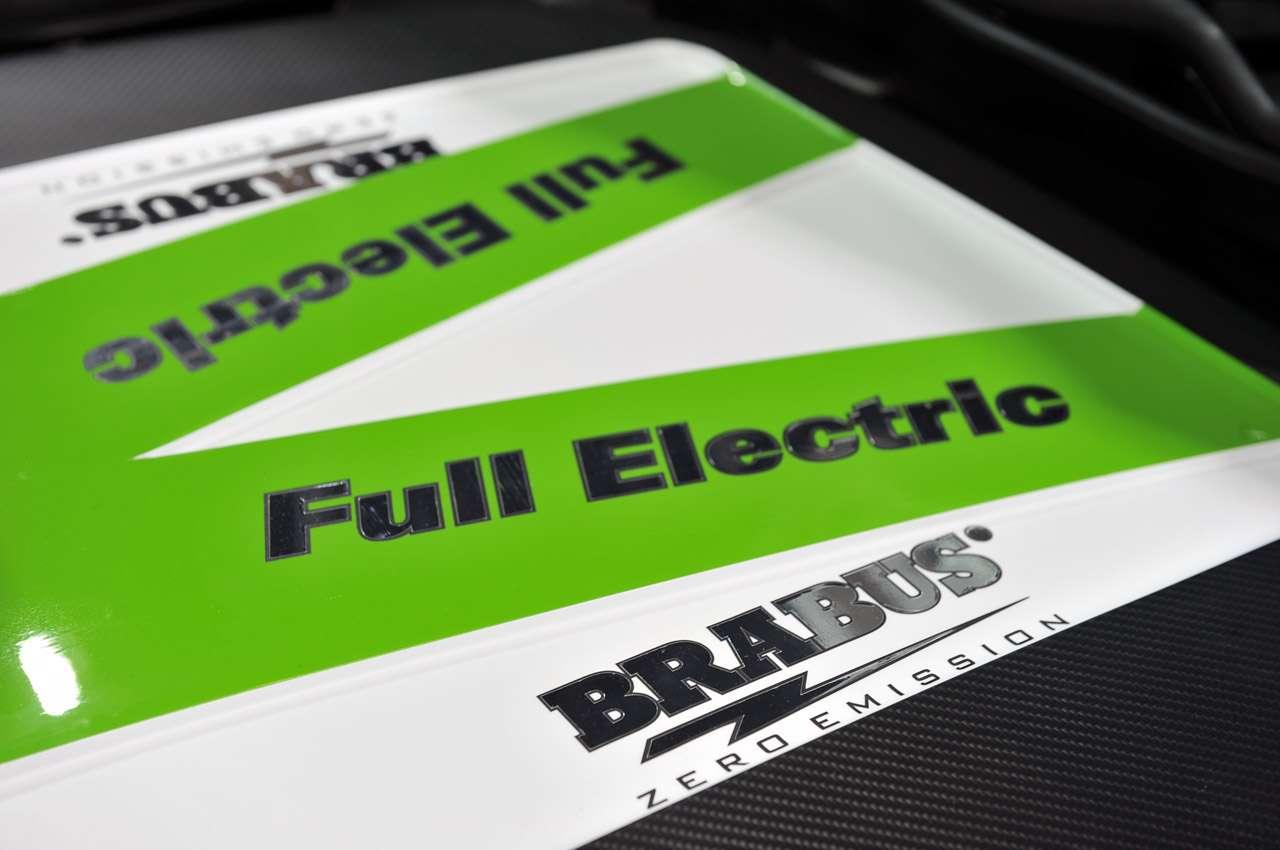 Brabus E klasa elektryczna fot frankfurt wrzesien 2011