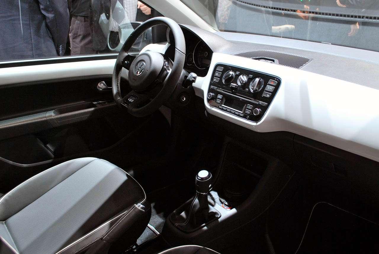 Volkswagen UP frankfurt fot wrzesien 2011