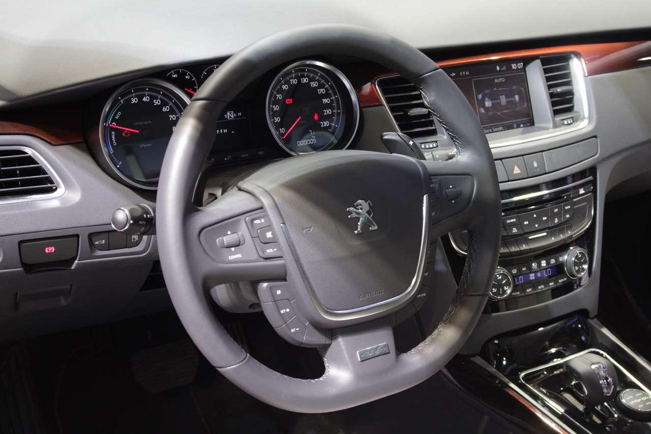 Peugeot 508 rx hybrid frankfurt 2011 wrzesien 2011