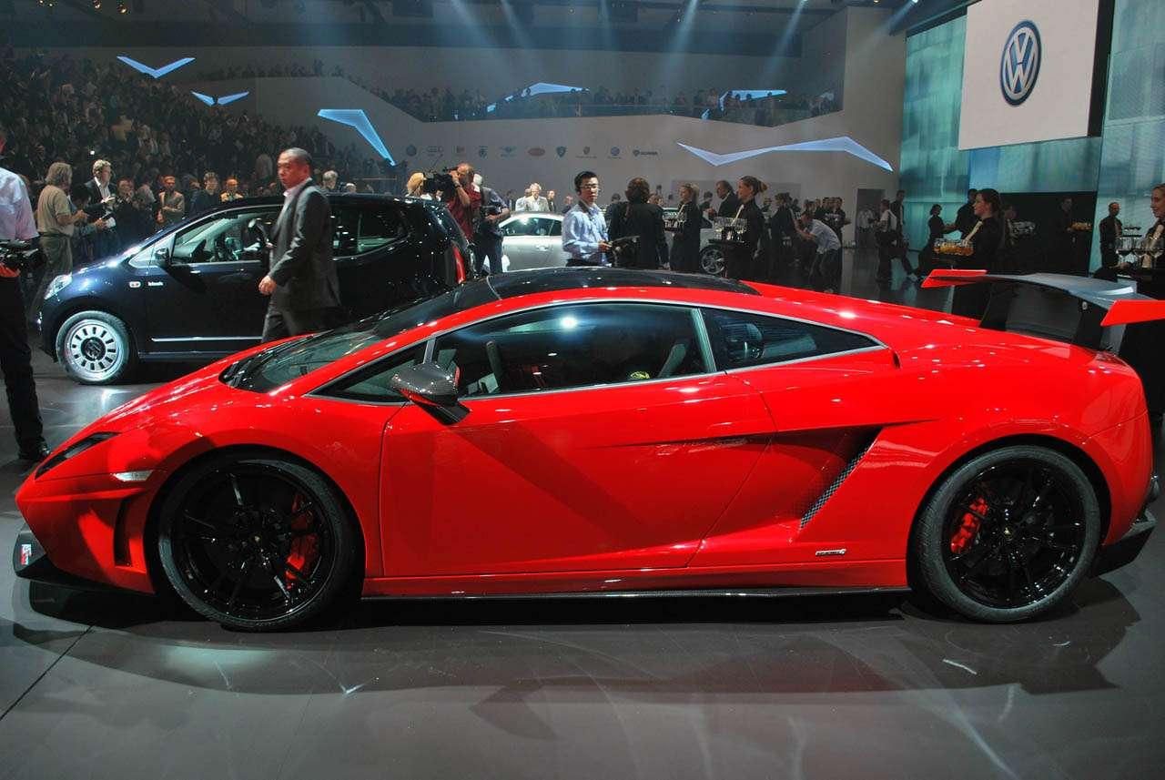 Lamborghini Gallardo Super Trofeo Stradale frankfurt wrzesien 2011