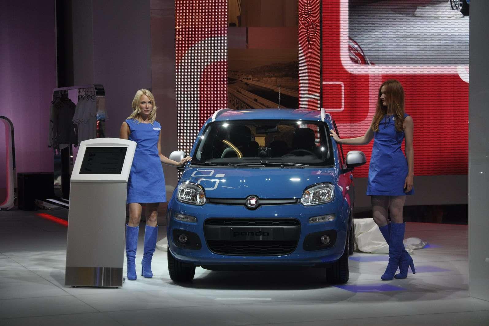 Fiat Panda nowy fot frankfurt wrzesien 2011