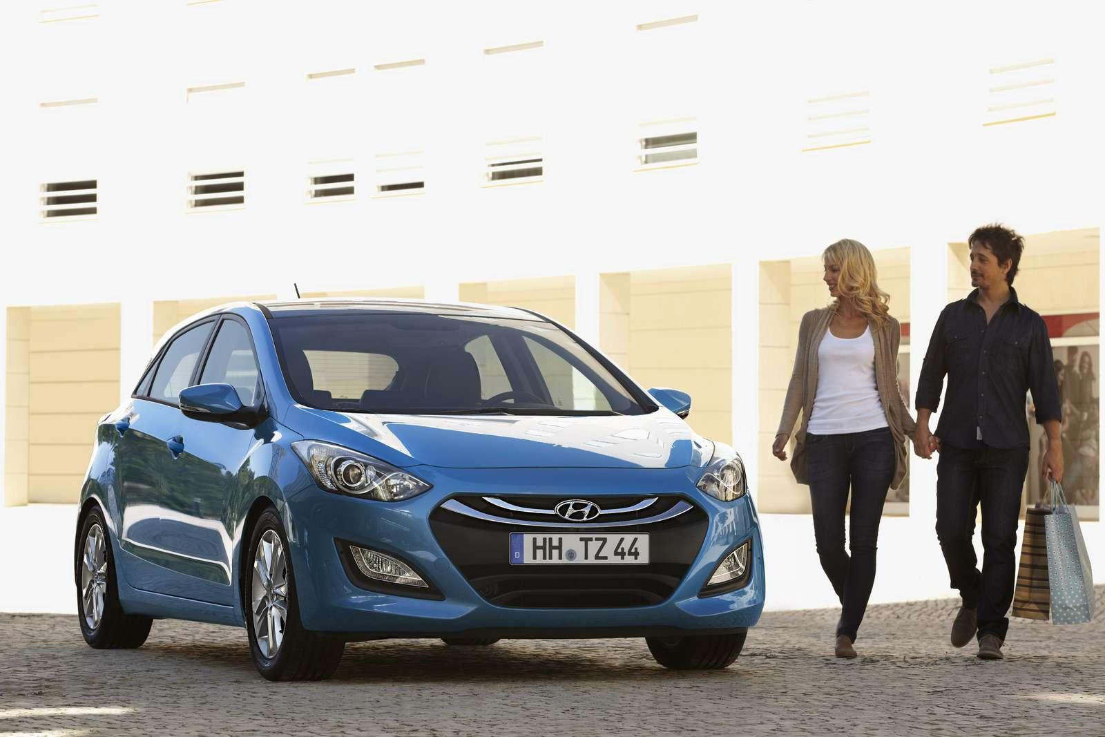 Hyundai i30 nowy frankfurt wrzesien 2011