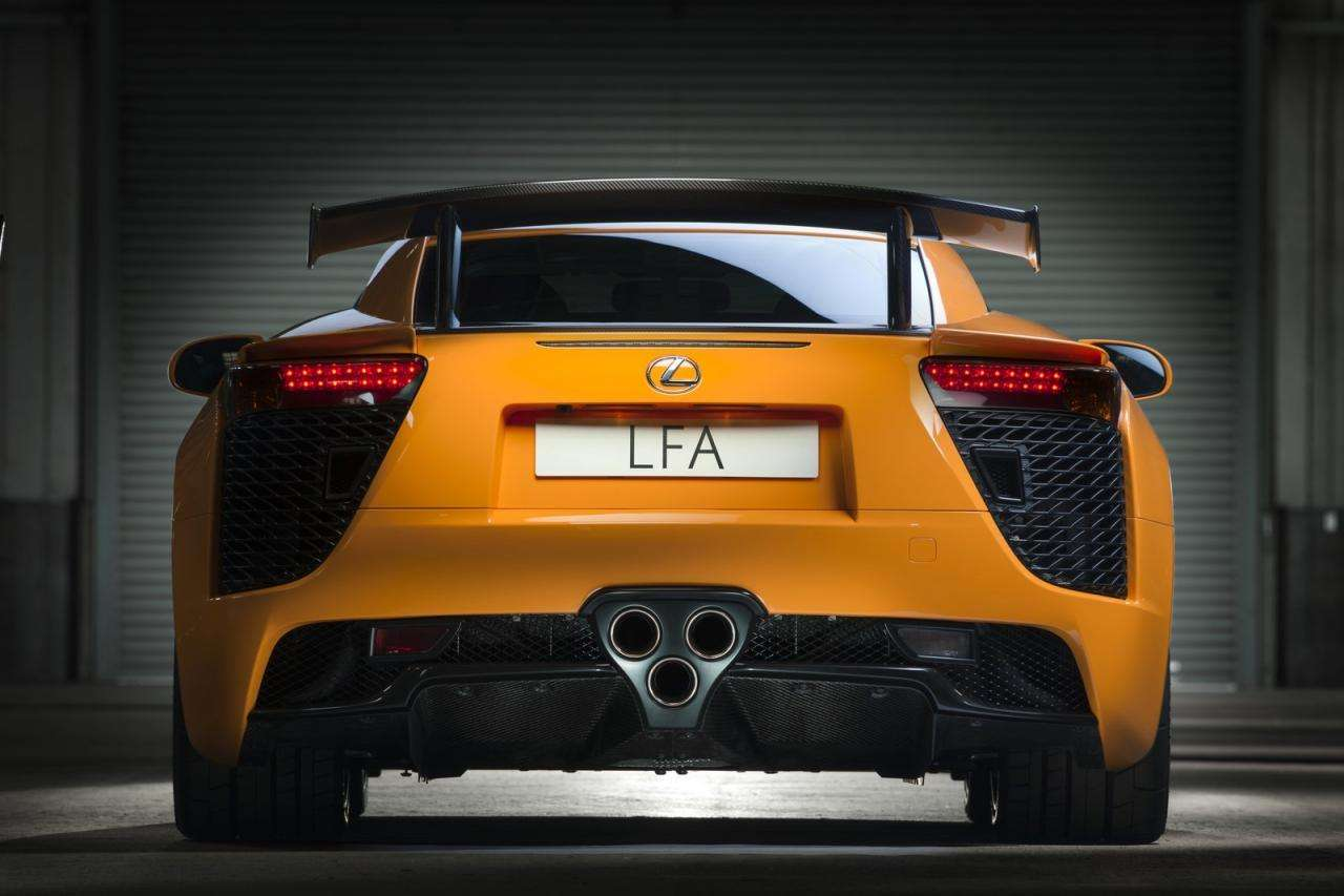 Lexus LFA nurburgring edition fot wrzesien 2011