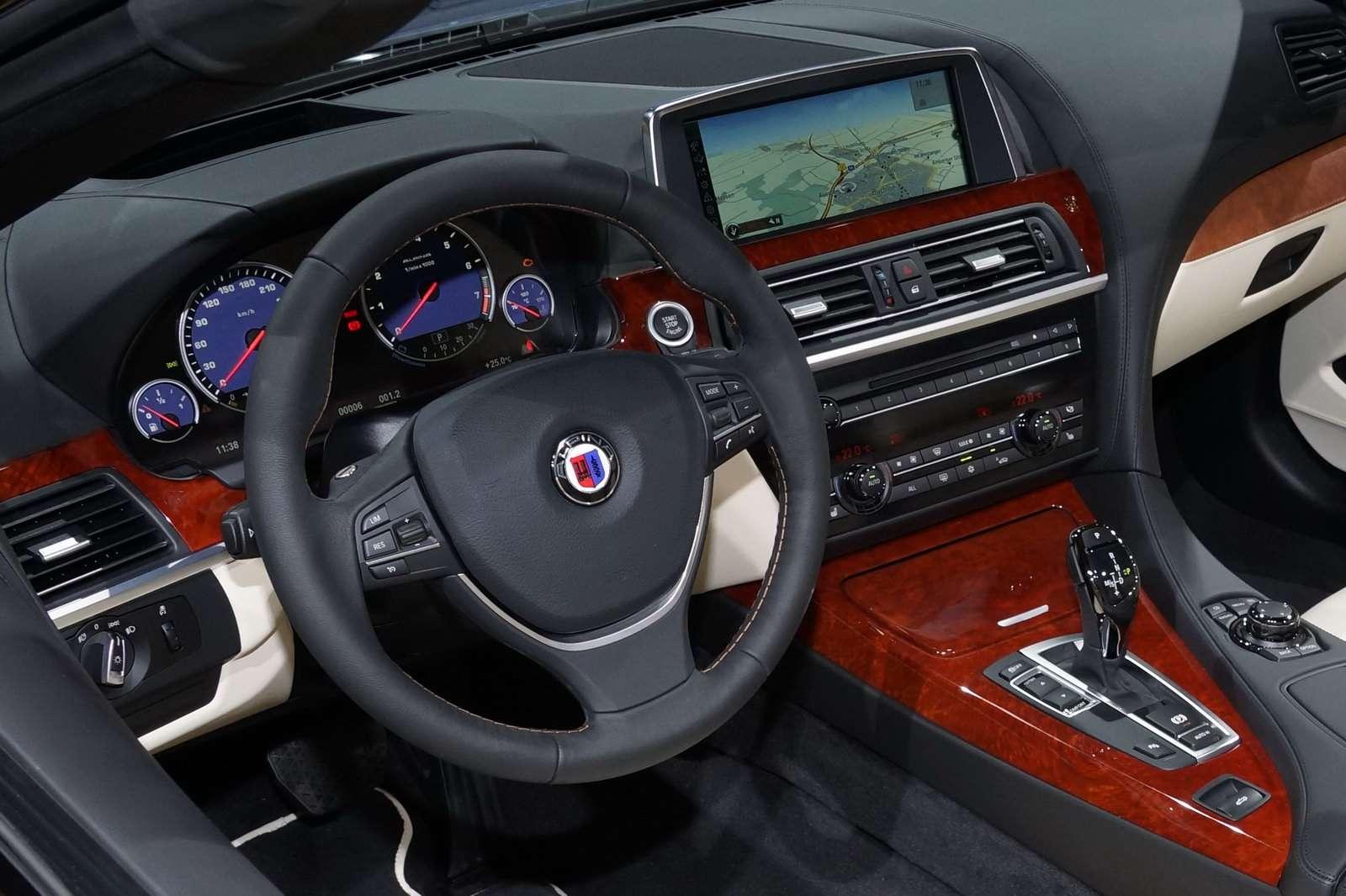BMW B6 biturbo alpina frankfurt fot wrzesien 2011