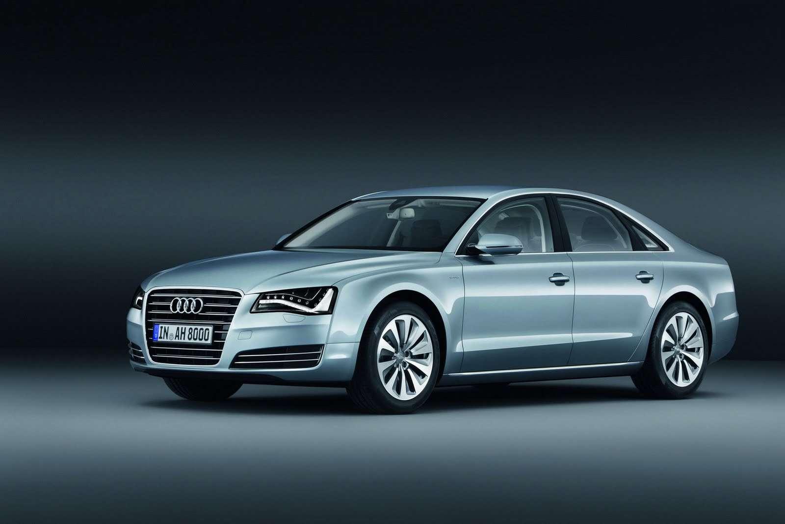 Audi A8 hybryd limited i nowy silnik frankfurt wrzesien 2011