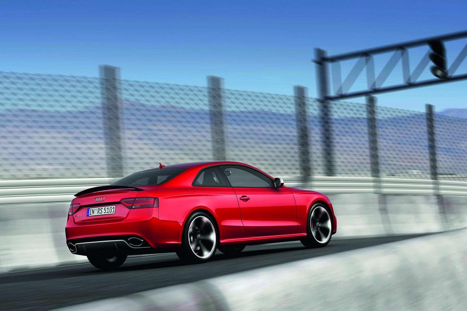 Nowe Audi RS5 fot frankfurt wrzesien 2011