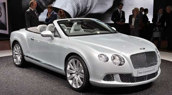 bentley continental gtc frankfurt glo