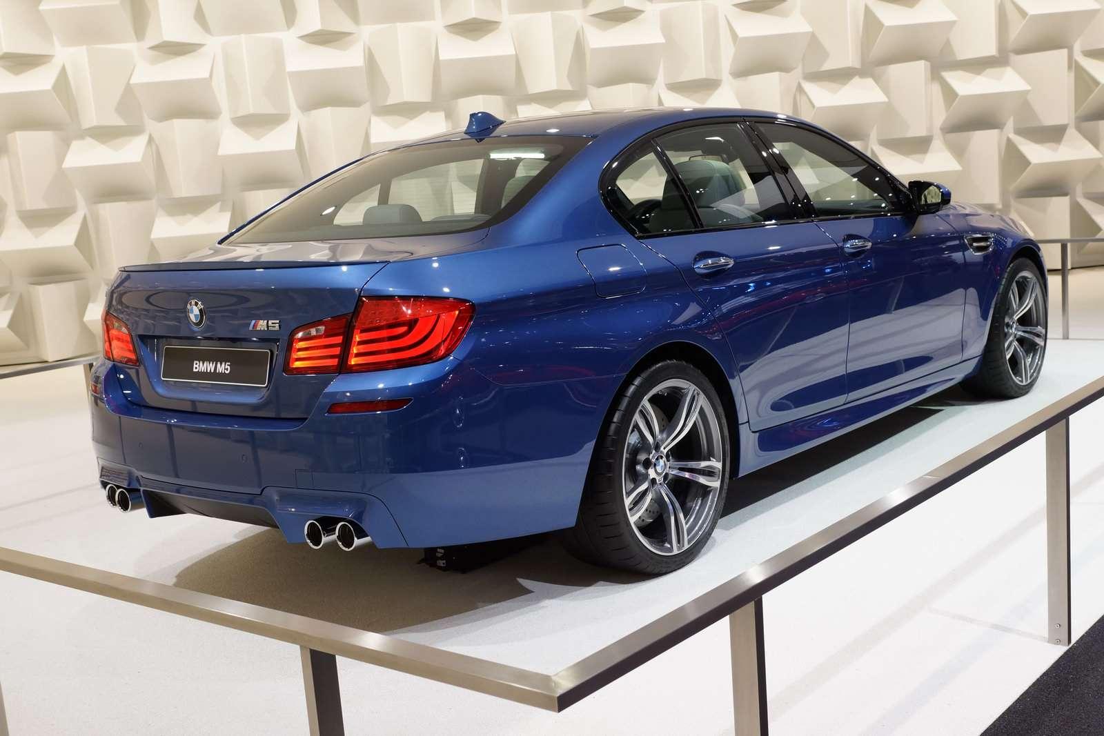 BMW F10M M5 fot frankfurt wrzesien 2011