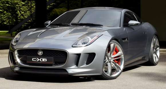 jaguar c x16 production concept 161 glo