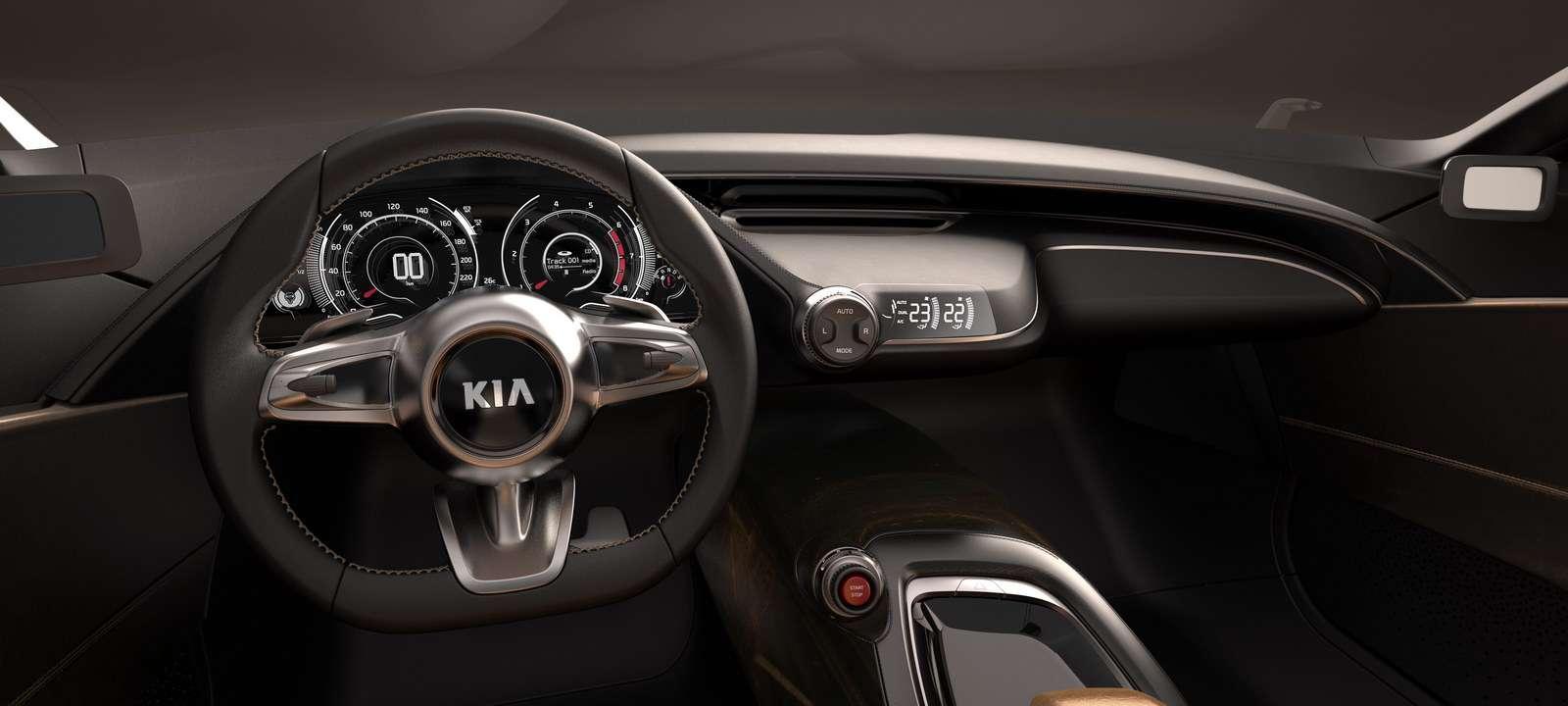 Kia GT Concept frankfurt 2011 wrzesien 2011