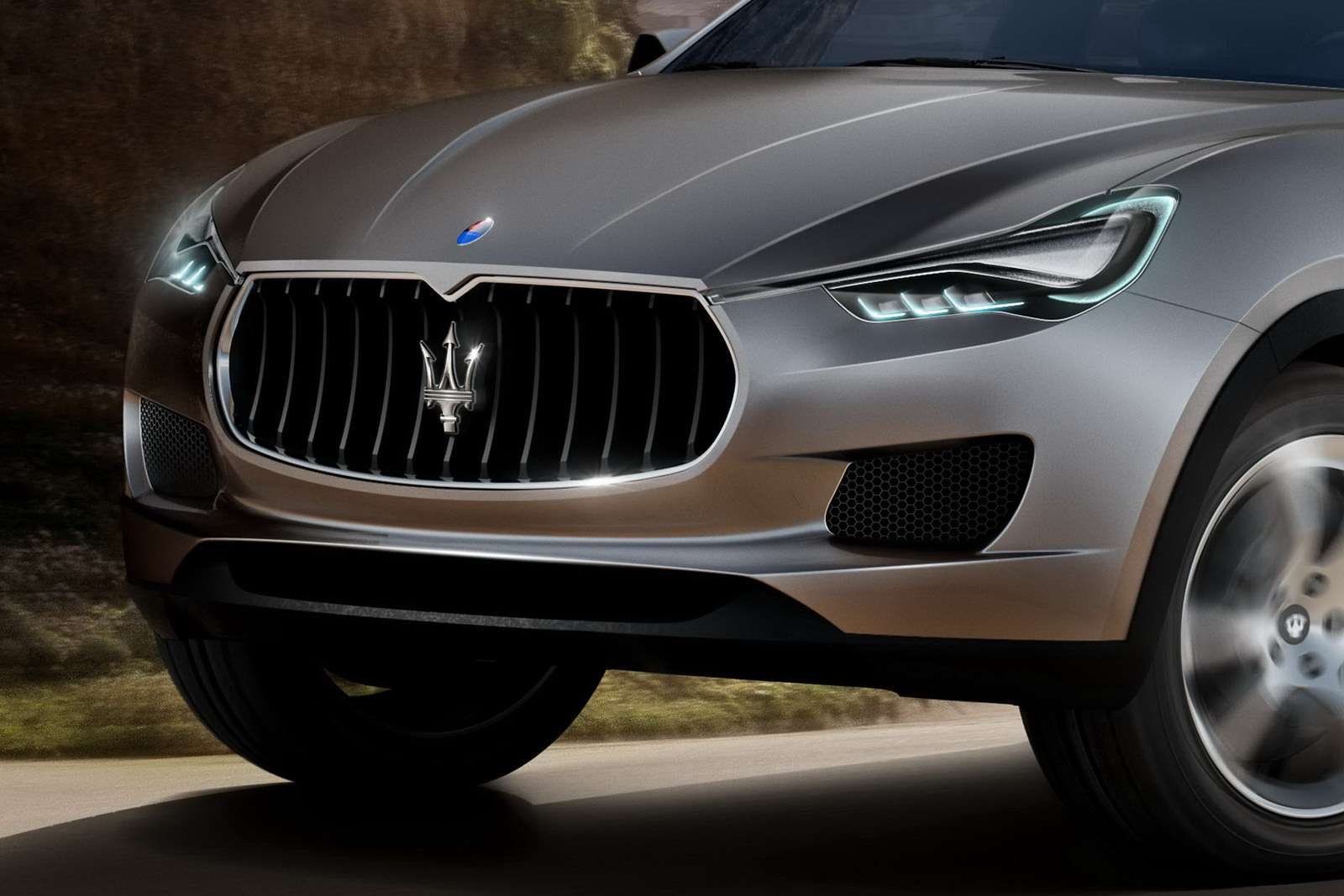 Maserati Kubang SUV first photo wrzesien 2011