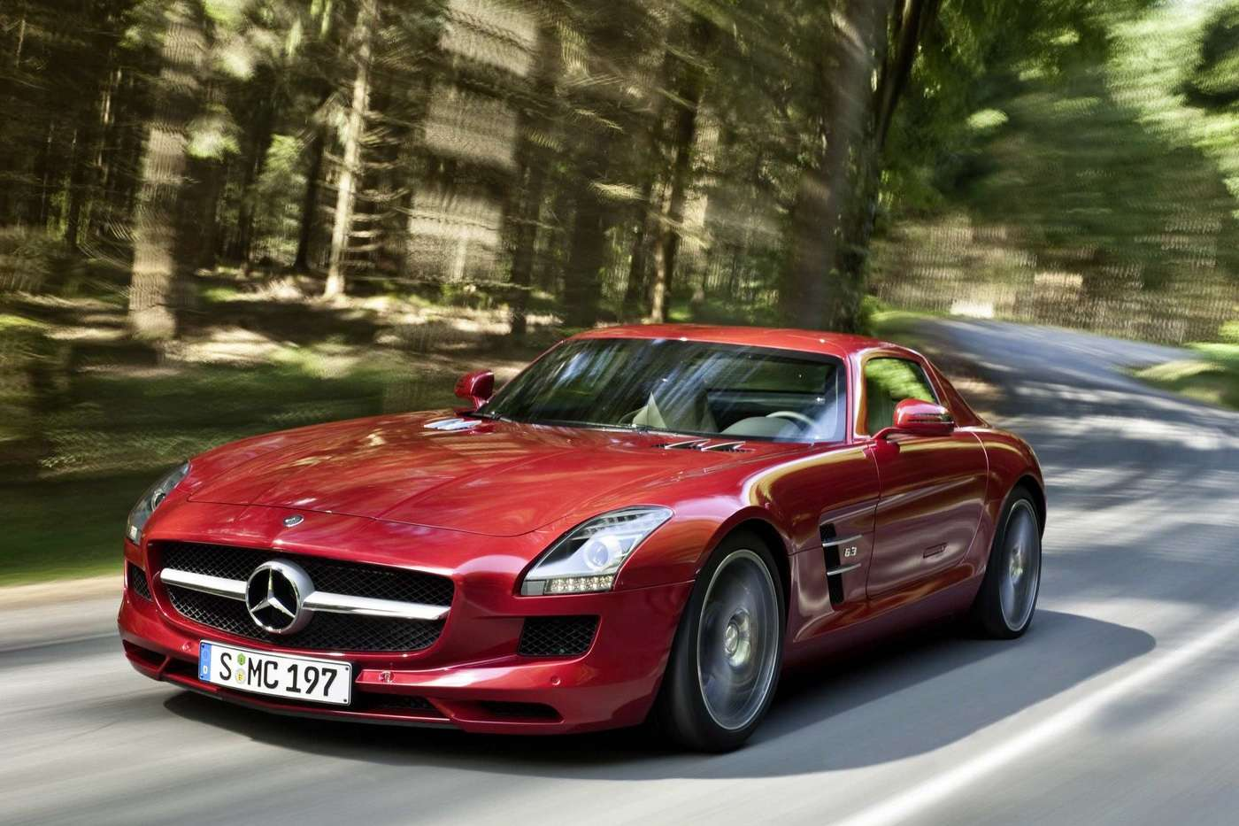 Mercedes SLS full gallery 2009