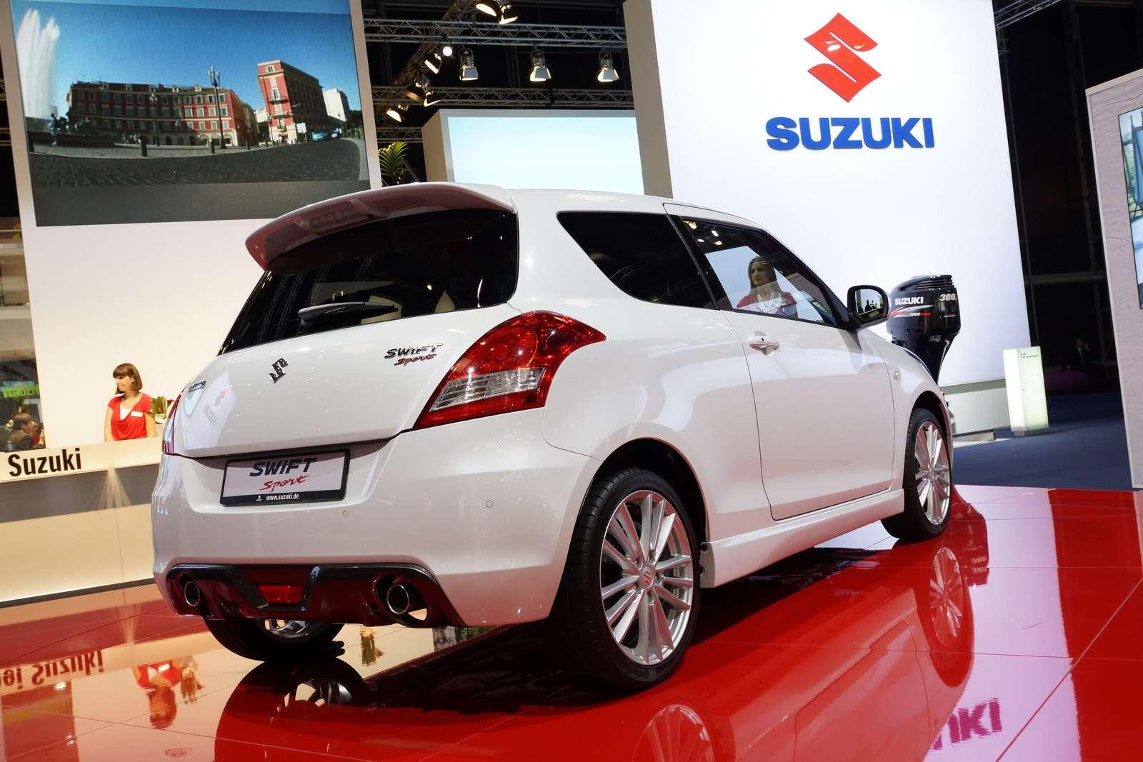Suzuki swift sport frankfurt wrzesien 2011