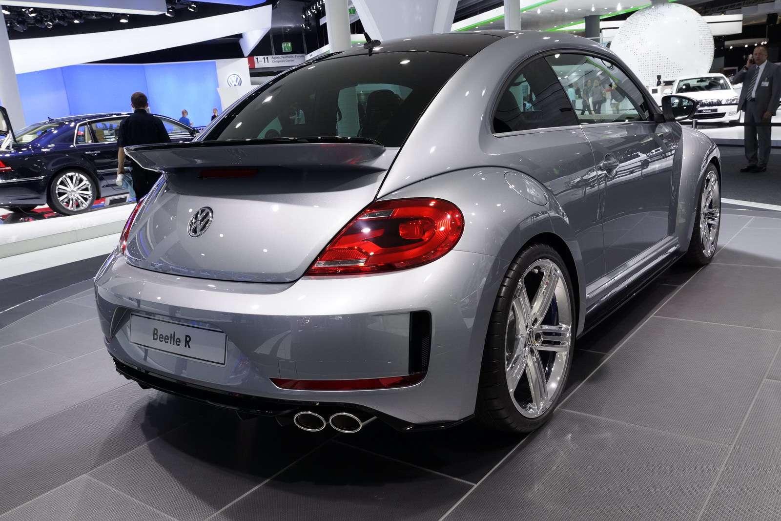 Volkswagen Beetle R Concept fot frankfurt wrzesien 2011