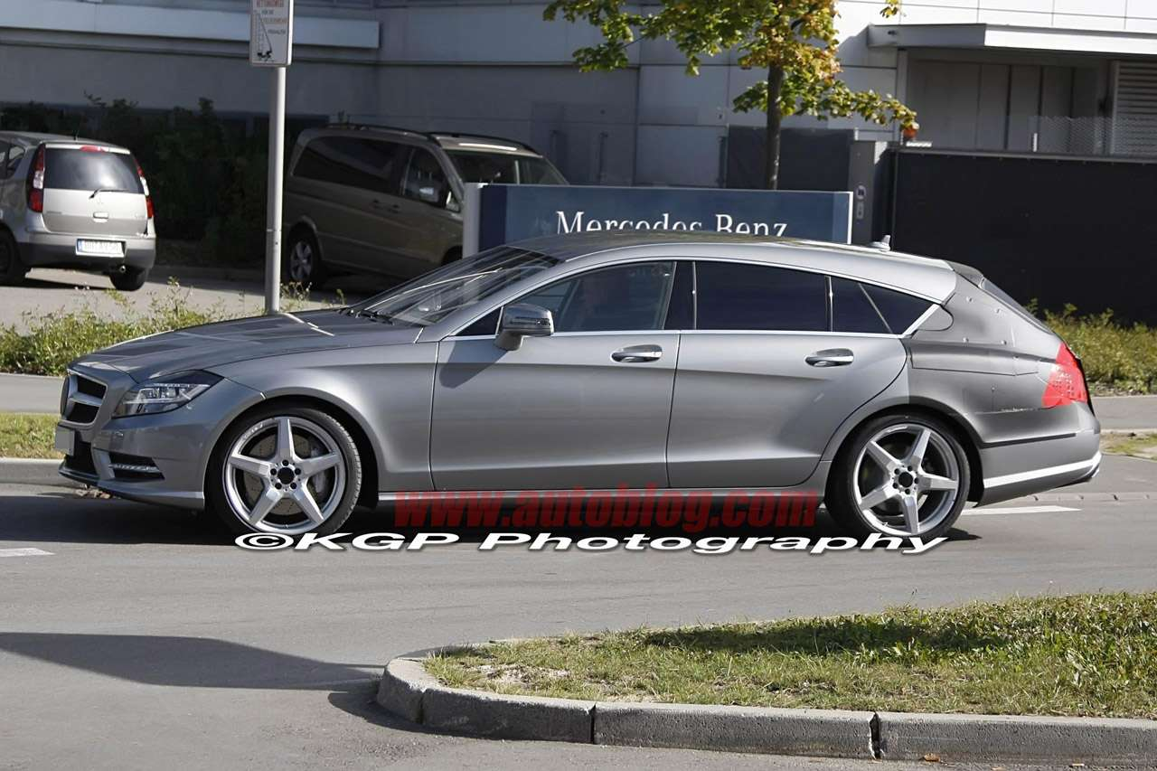 Mercedes-Benz CLS Shooting Brake fot pazdziernik 2011