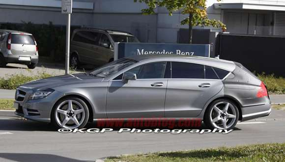 01 mercedes benz cls shooting brake spy shots628 glo