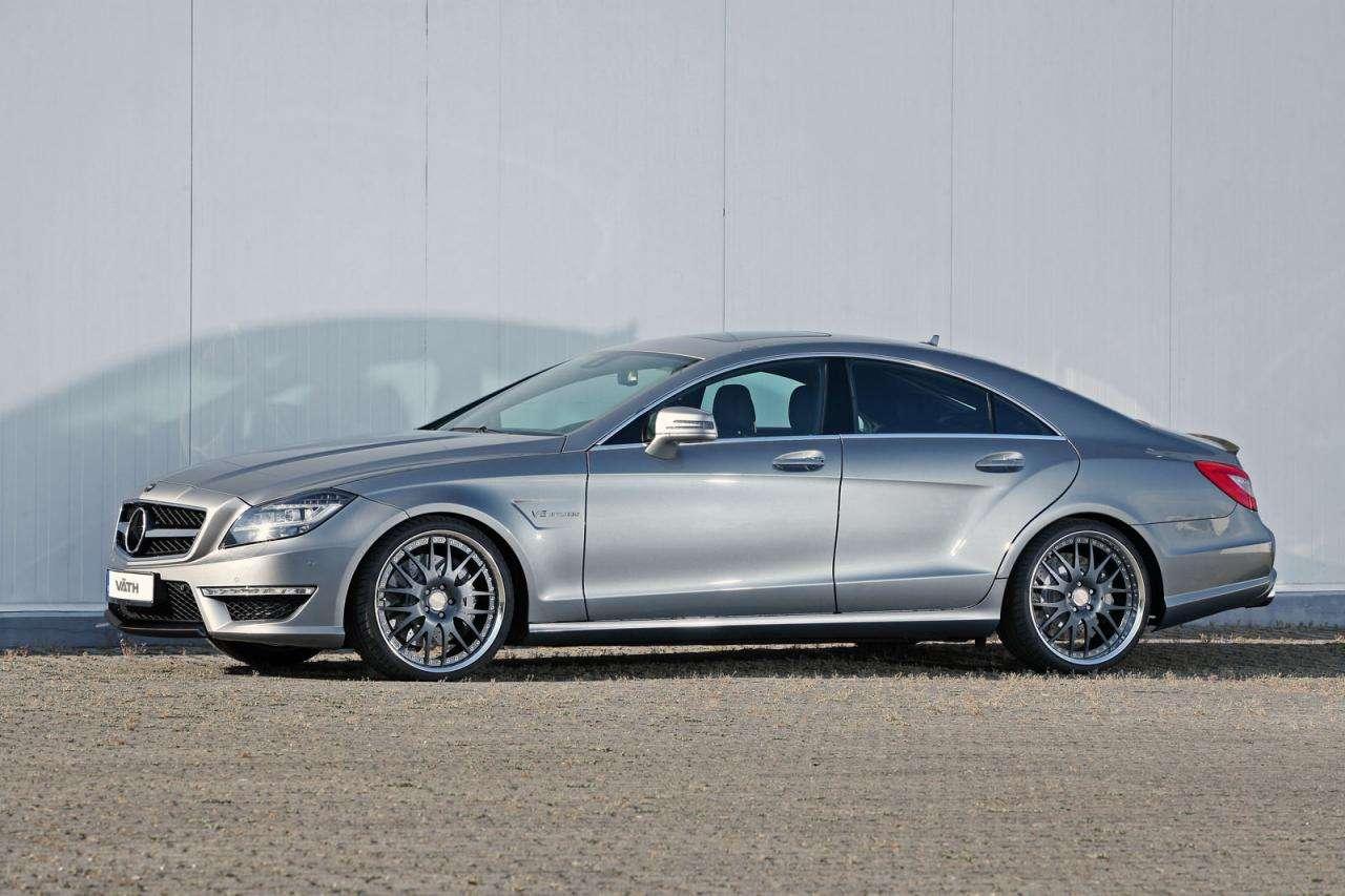 Mercedes-Benz CLS 63 AMG V8 Biturbo by vath pazdziernik 2011