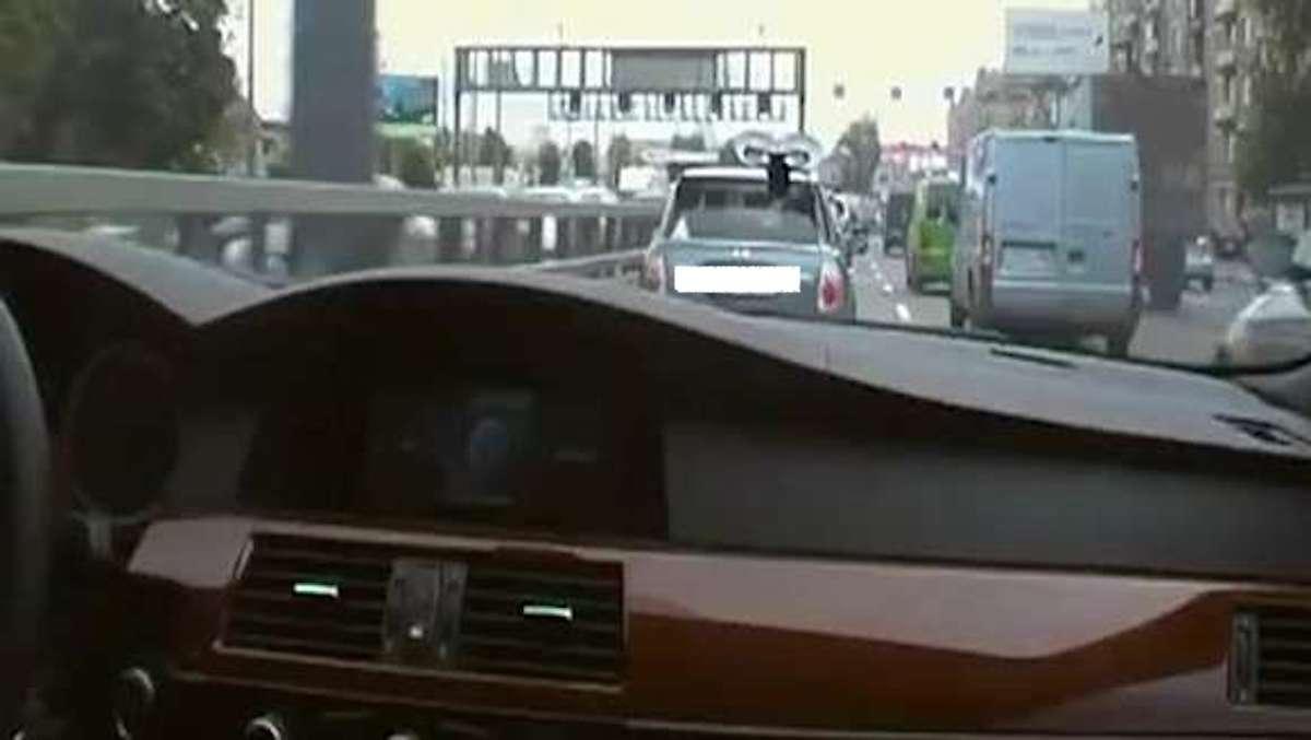BMW M5 E50: szybka jazda po mieście