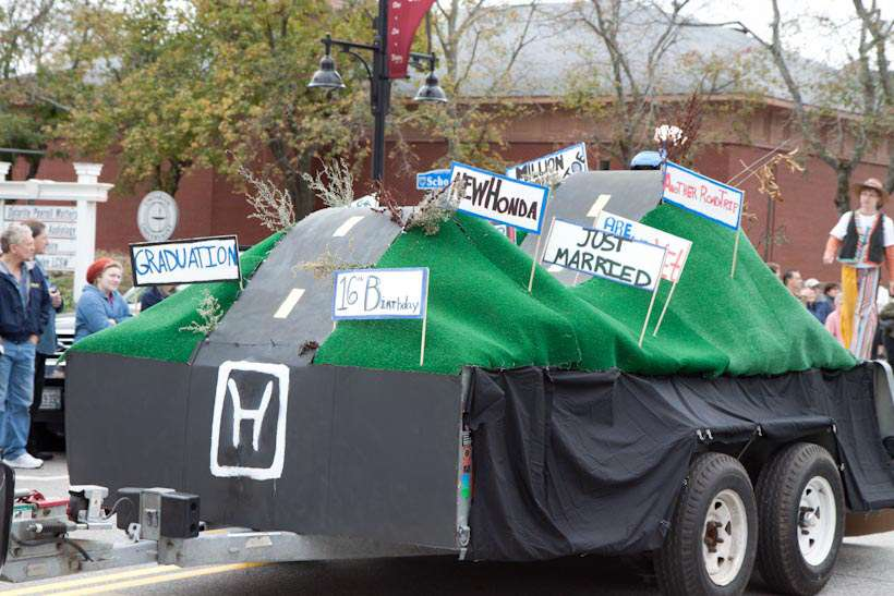 Surprise Parade Celebrated Honda Owner Who Accumulated One Milli