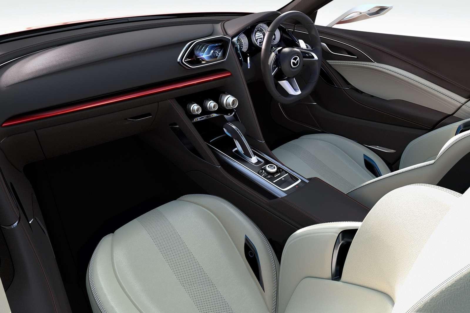Mazda Takeri 6 tokio przed fot pazdziernik 2011