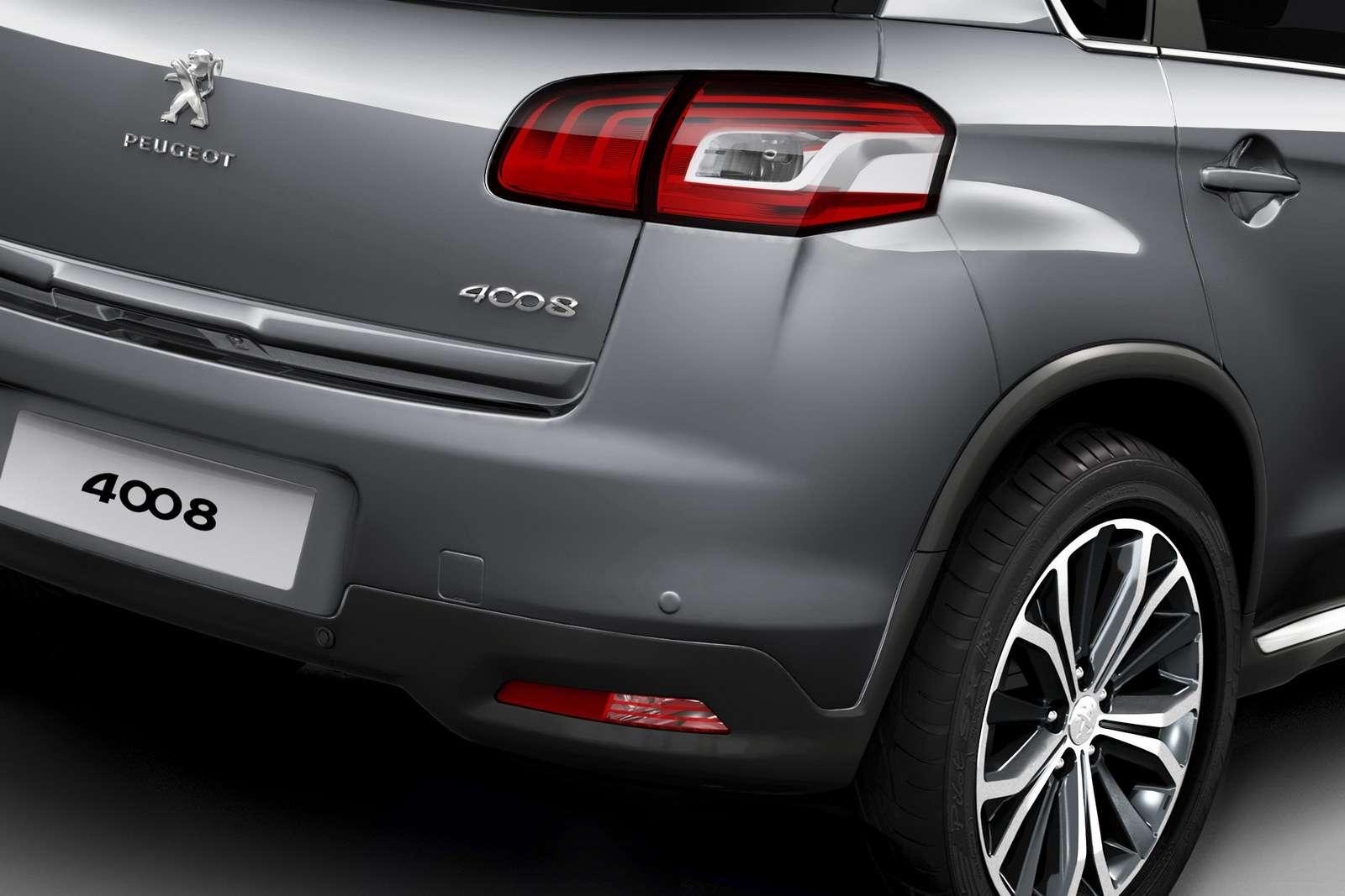 Peugeot 4008 new car pazdziernik 2011