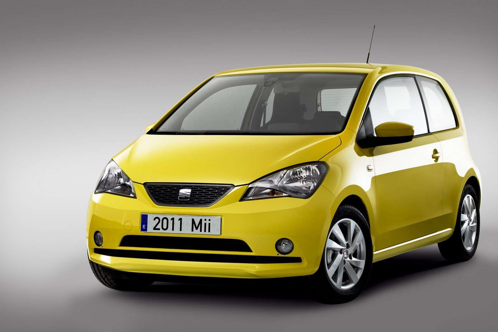 Seat Mii new car photo pazdziernik 2011