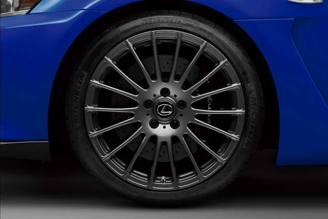 Lexus IS-F Circuit Club Sport first photo listopad 2011