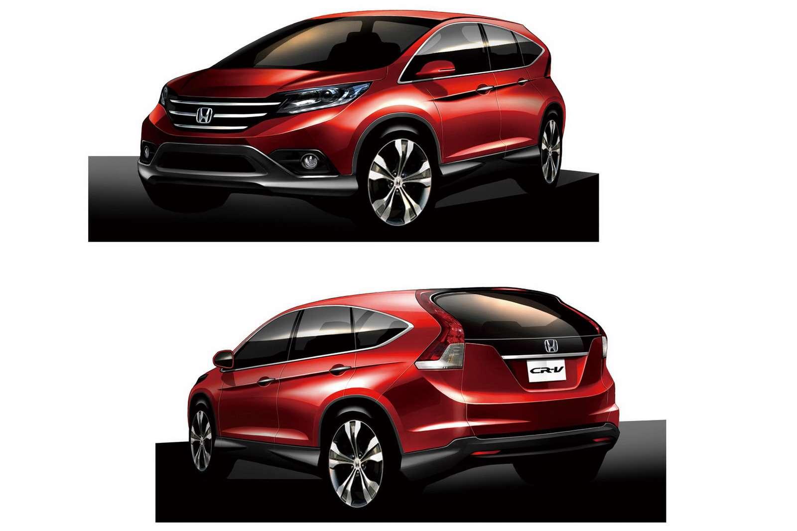 Honda CR-V dla japonii 50 fot listopad 2011