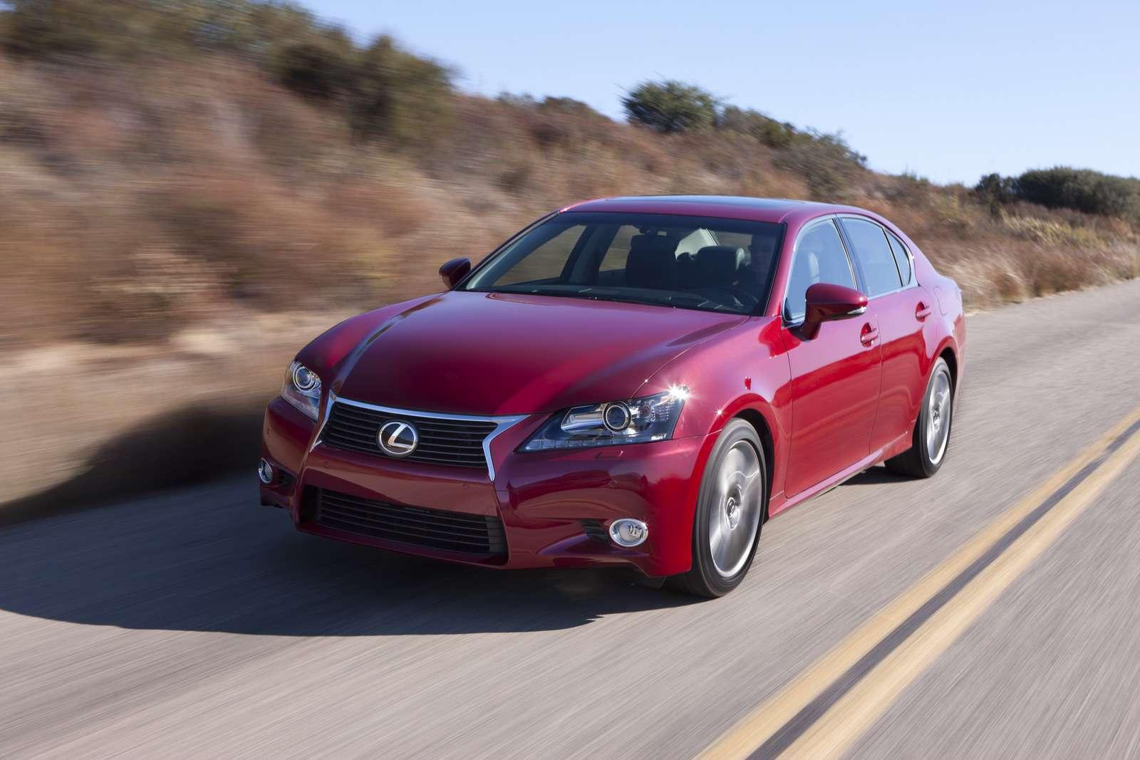 Lexus GS 250 oficjalnie 4 foty listopad 2011