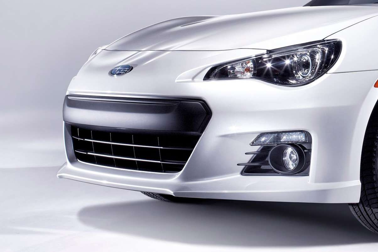 Subaru BRZ first official photo listopad 2011