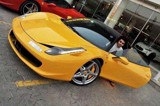Ferrari i inne samochody 21 latka wrzesien 2010