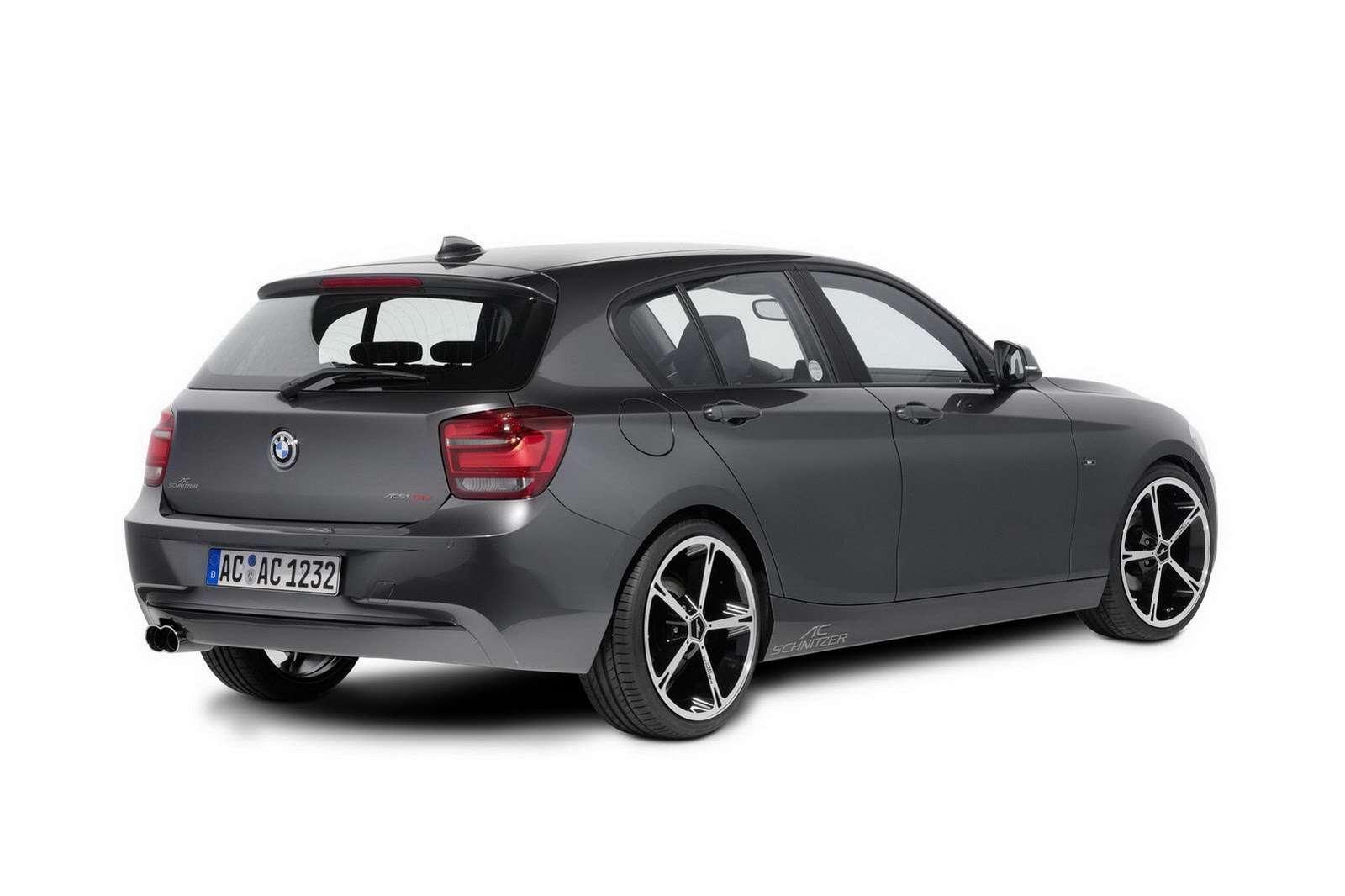 BMW serii 1 F20 AC Schnitzer fot listopad 2011