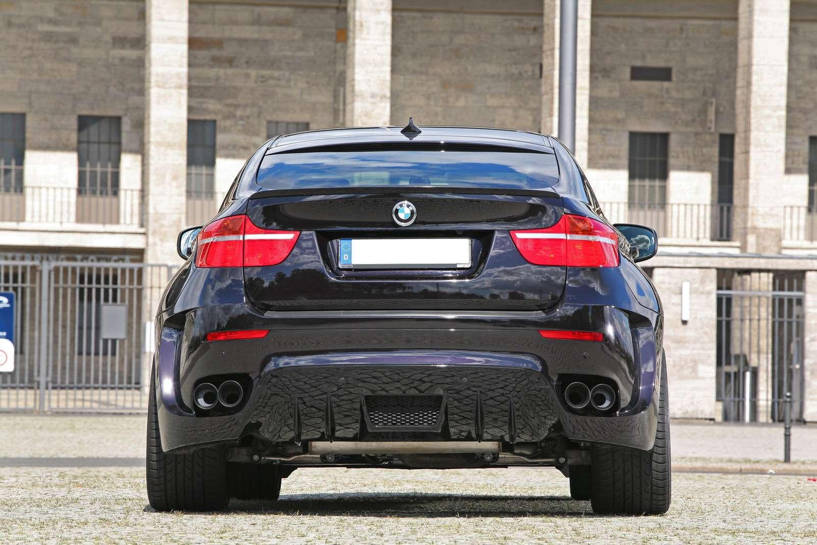 BMW X6 Bruiser od CLP Automotive fot listopad 2011