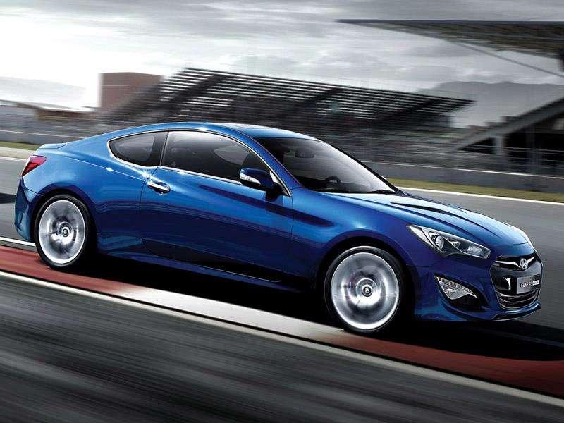 Hyundai Genesis Coupe fot z face listopad 2011