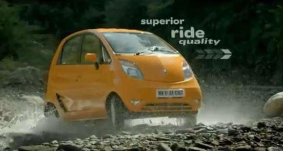 Tata Nano commercial