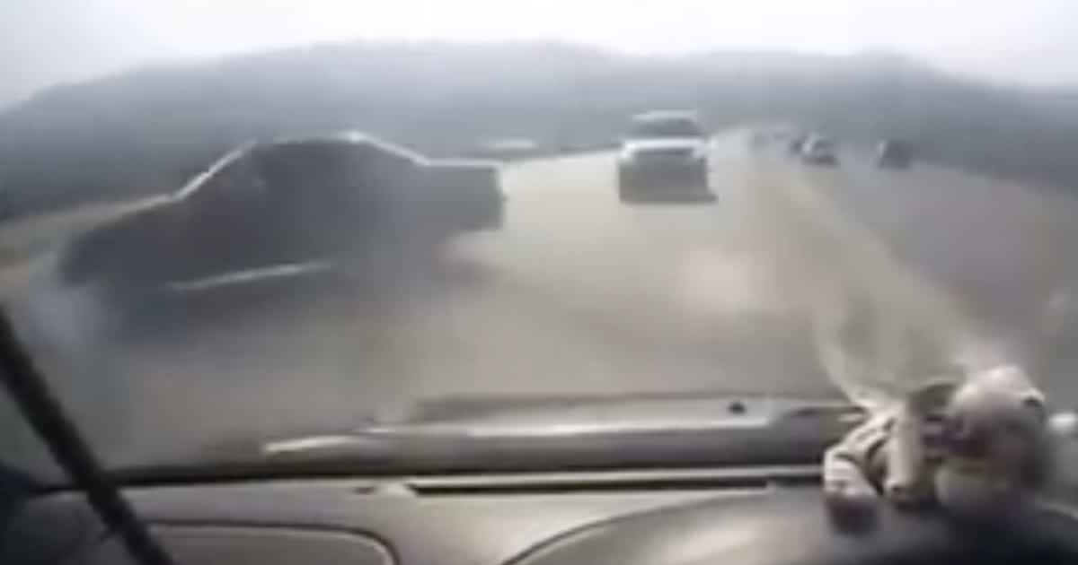 Trudna sytuacja drogowa