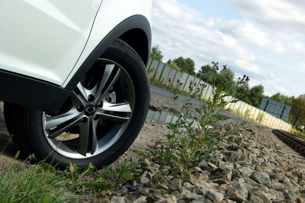 SsangYong Korando 4x4 fot test grudzien 2011