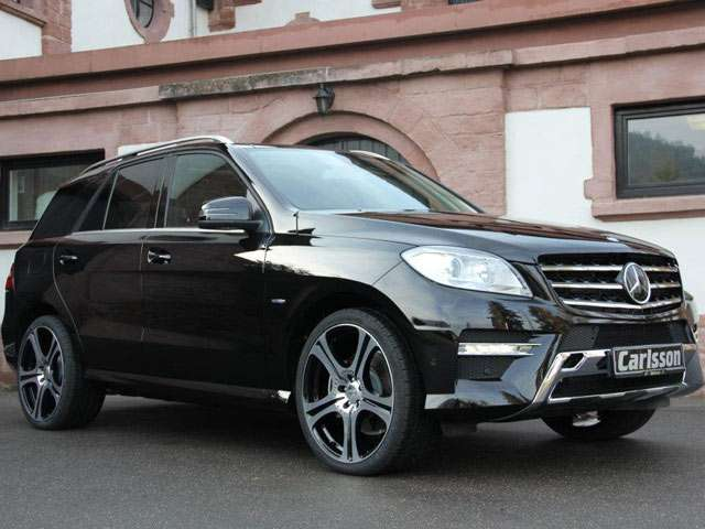 Mercedes ML350 Bluetec by Carlsson fot grudzien 2011