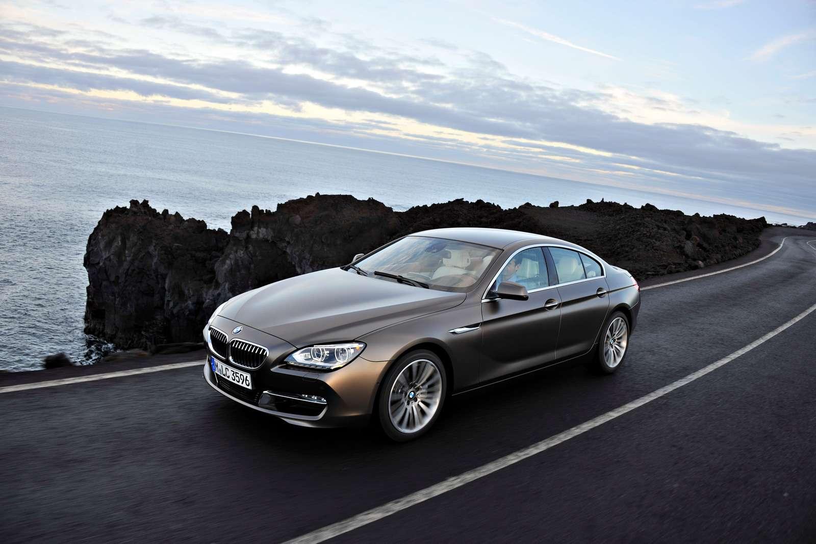 BMW 6 Gran Coupe fot oficjalnie grudzien 2011
