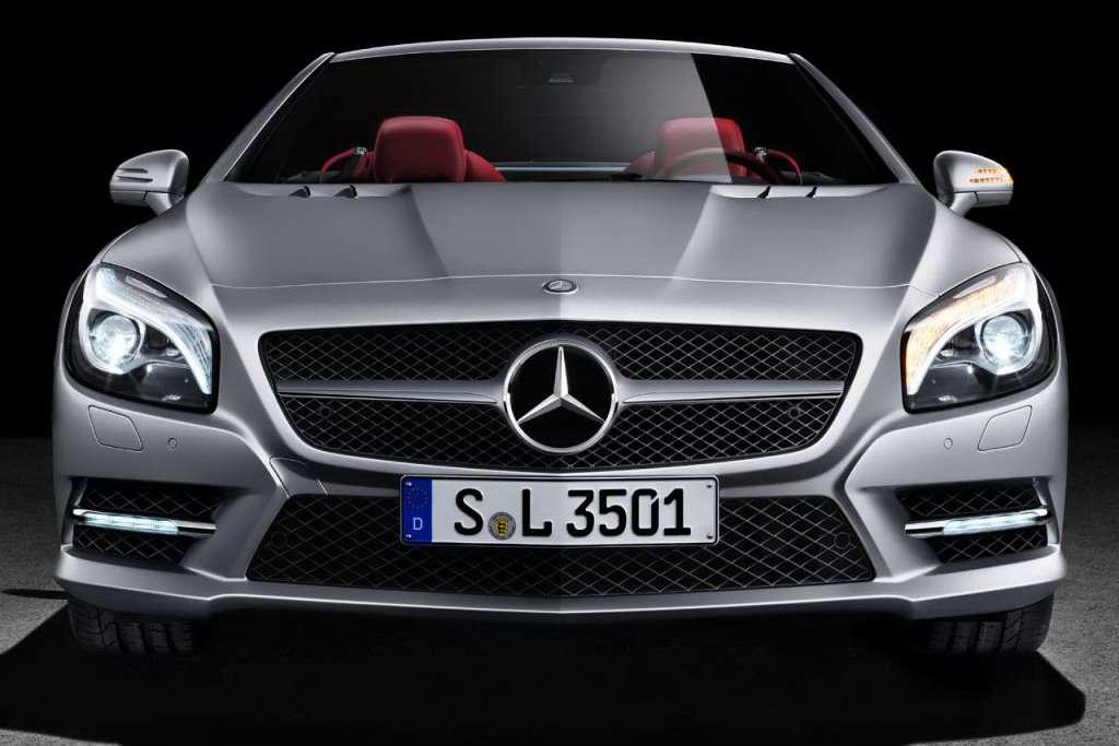 2013 Mercedes-Benz SL oficjalnie 100 fot grudzien 2011