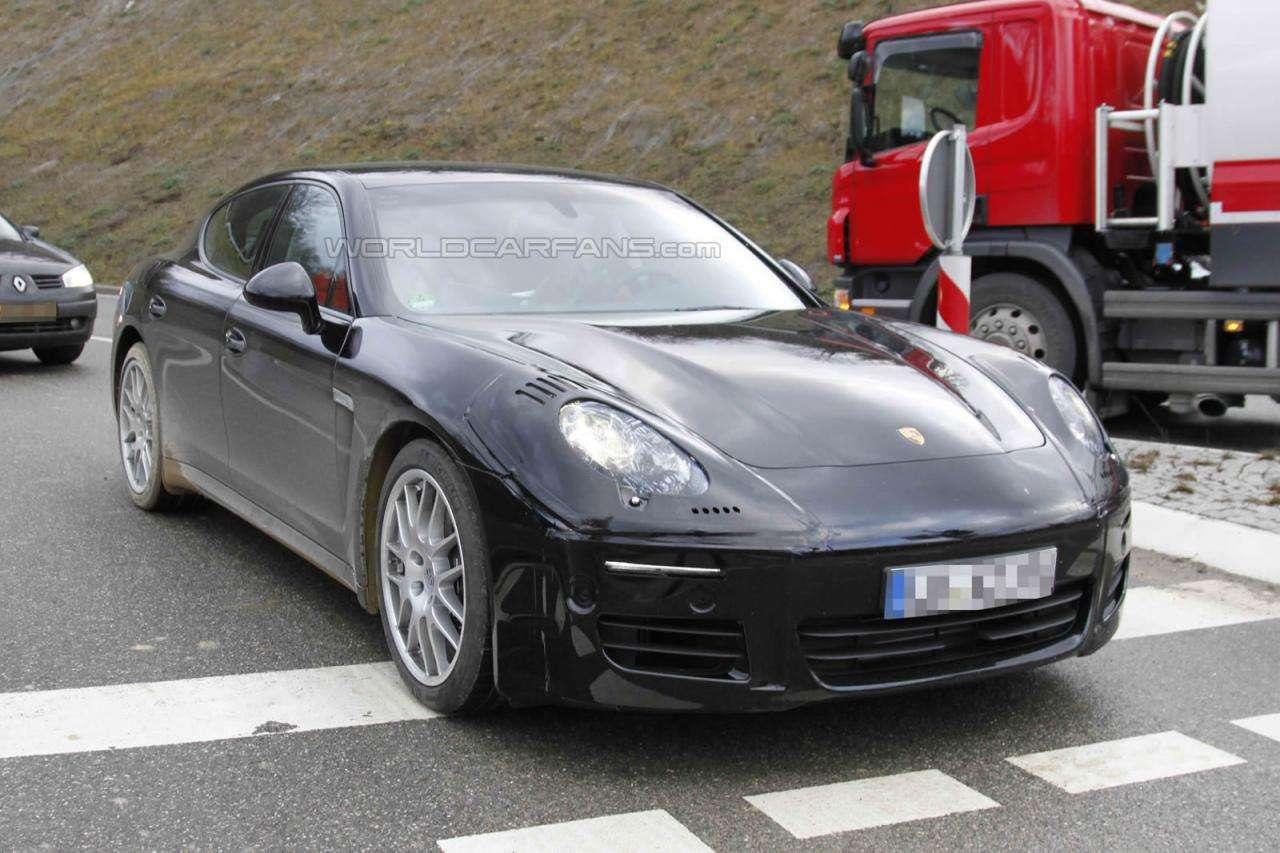 Porsche Panamera 2013 facelinfting fot szpieg grudzien 2011