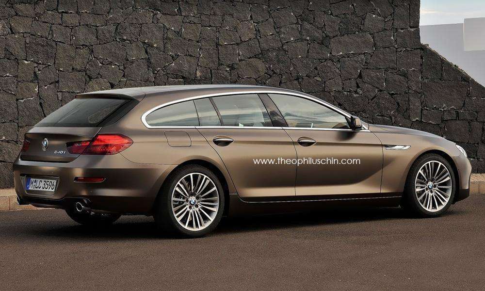 BMW serii 6 Gran Touring spekulacje rend grudzien 2011